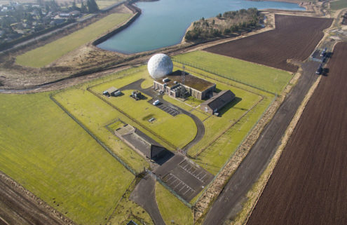 Scotland's ballistic missile radar The Golf Ball goes on sale for £950k