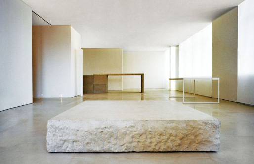 Kanye West's former Soho apartment, Via Claudio Silvestrin Architects