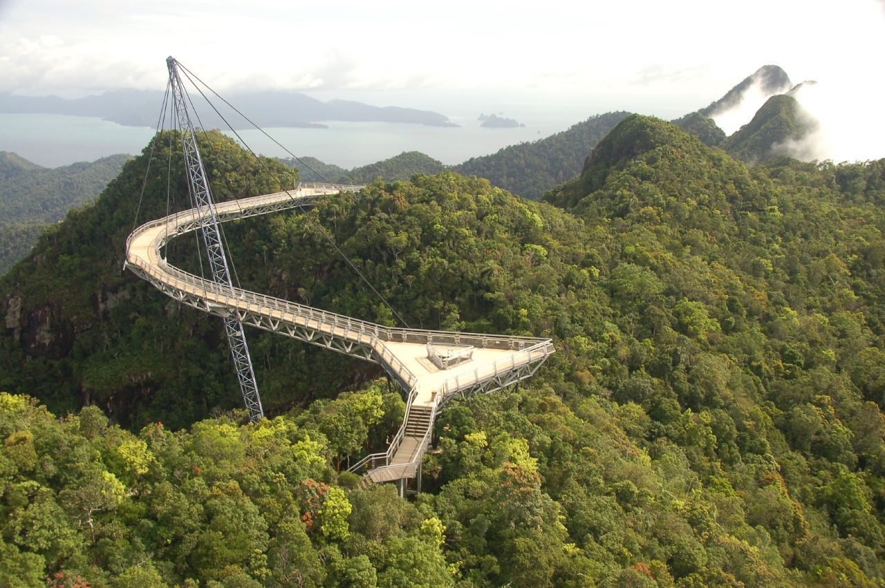 Skybridge in Langkawi, Malaysia