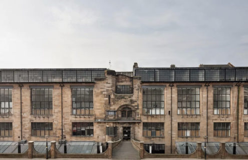Glasgow School of Art's fire-ravaged Mackintosh building will be rebuilt