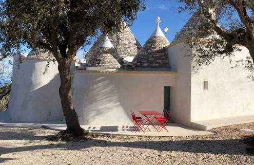 Holiday home of the week: a revived trullo in Puglia with sea views