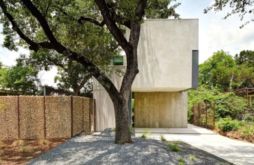 Property of the week: a Texas dwelling wrapped around a tree