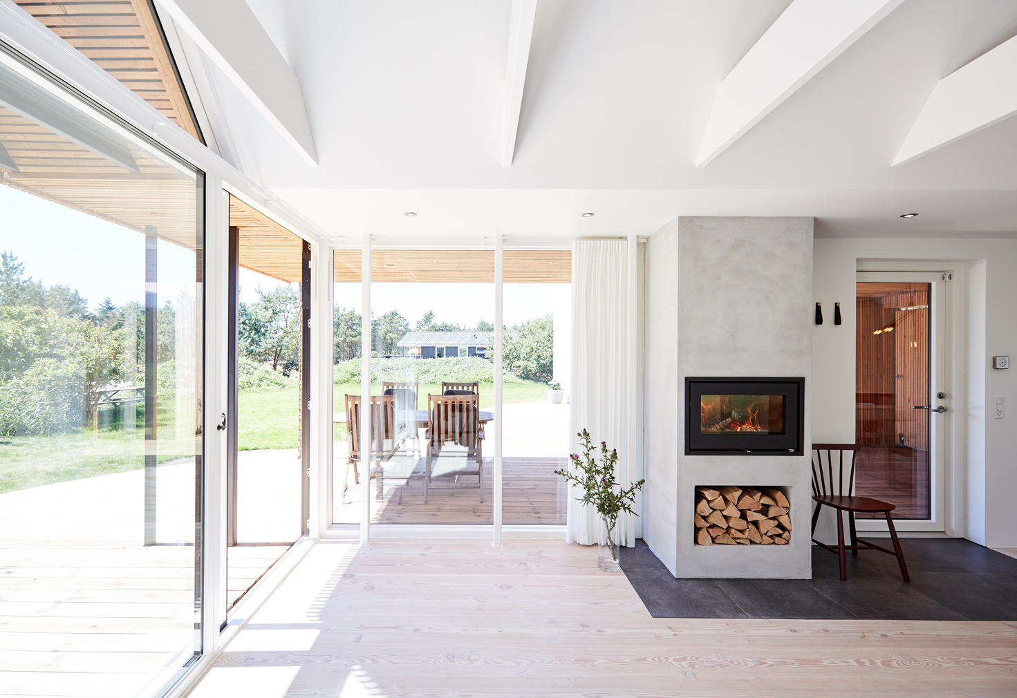The Woodhouse holiday home in Denmark designed by Søren