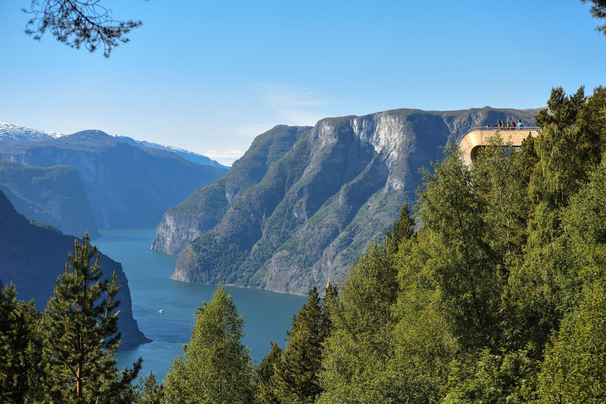 Stegastein Aurland lookout, Aurlandsfjellet, Norway
