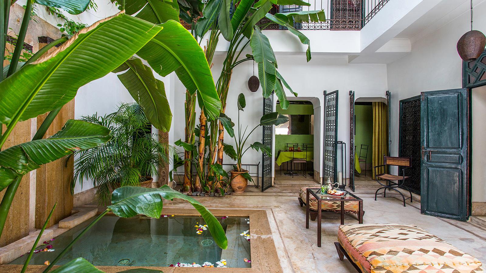 Marrakech villa Dar Cheref for rent