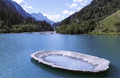 Art Safiental festival brings sculptures to the Swiss Alps