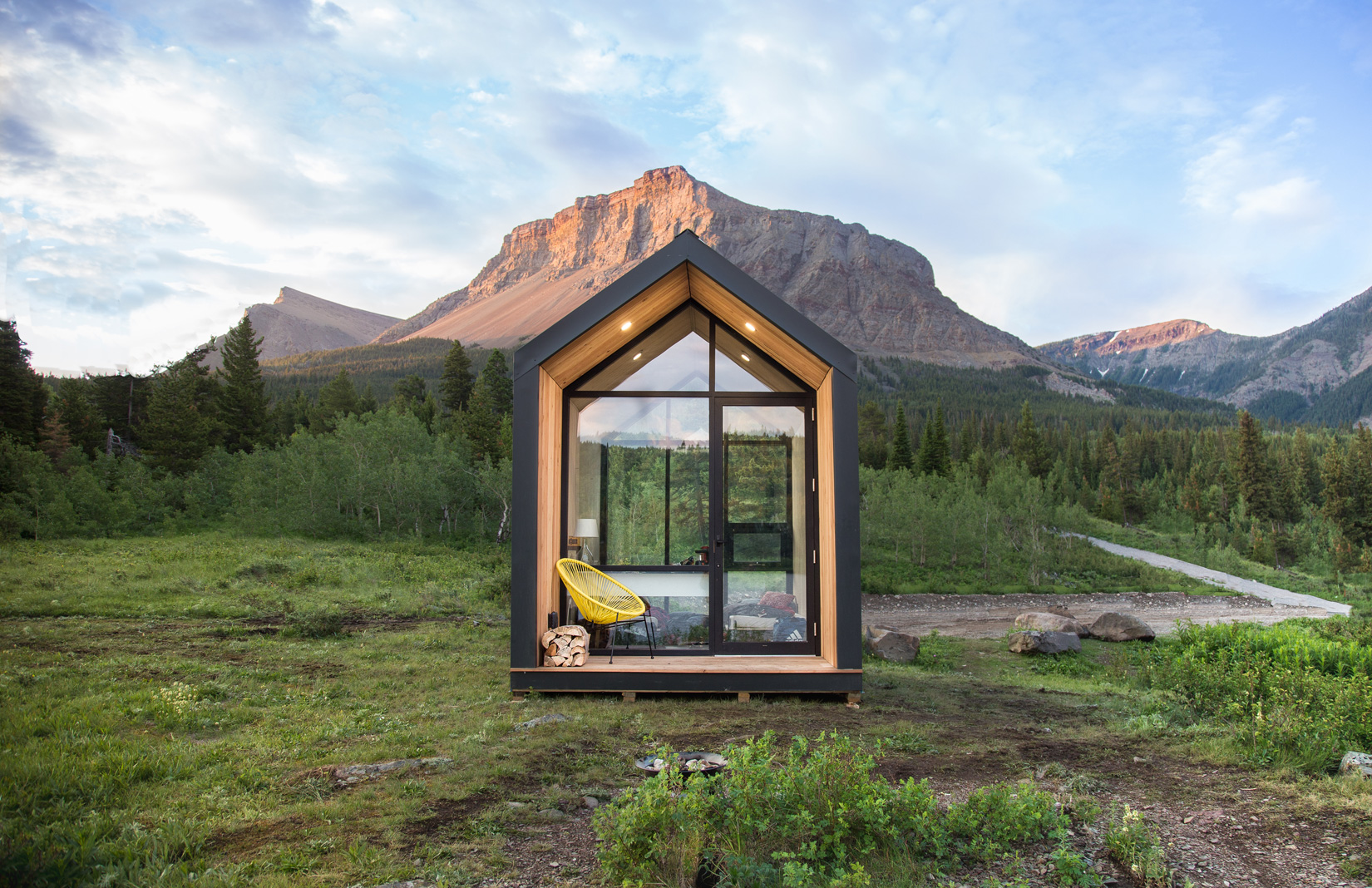 Mono is a 'plug and play' prefab cabin costing just $21k