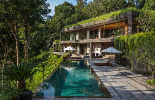 Holiday home of the week: a Brutalist Bali villa that blends with its surrounds