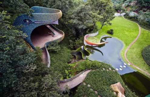 Is this Mexican snake house the most surreal home on Airbnb?