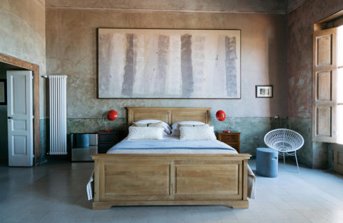Holiday home of the week: a contemporary apartment in a old Italian monastery