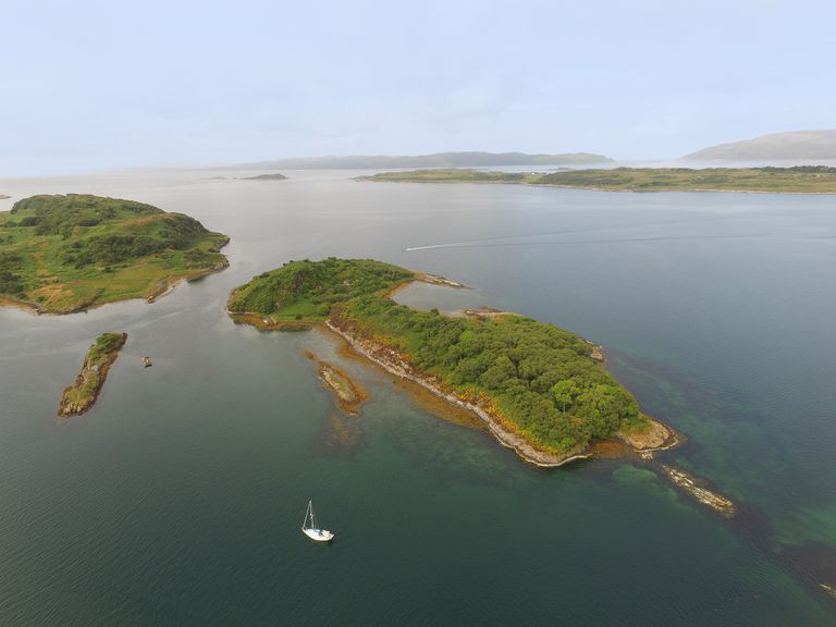secluded island off the west coast of scotland lists for 120k. Black Bedroom Furniture Sets. Home Design Ideas