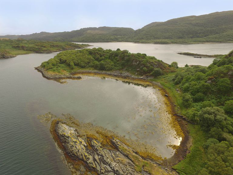 Secluded island off the west coast of Scotland lists for £120k