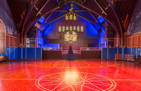Nike turns Chicago church into a basketball HQ