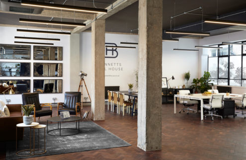 Birmingham bank is reborn as loft-like offices