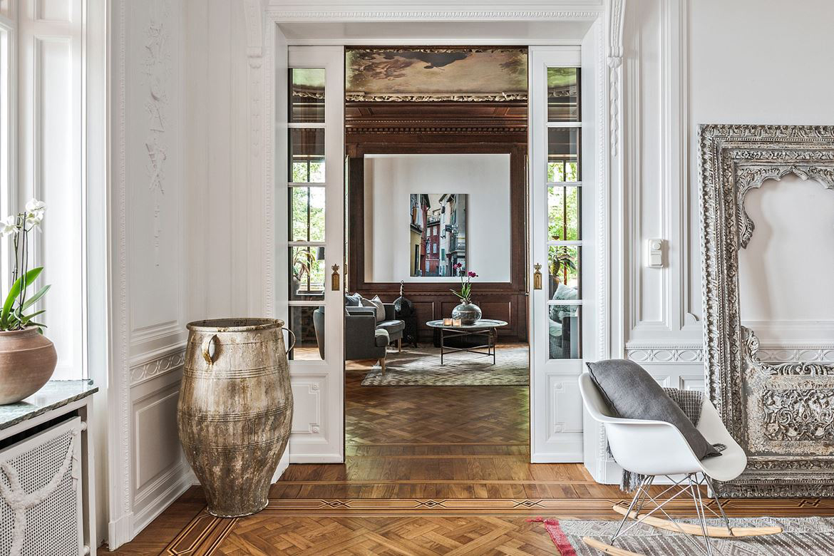 Property of the week: a historic Swedish apartment overlooking the sea