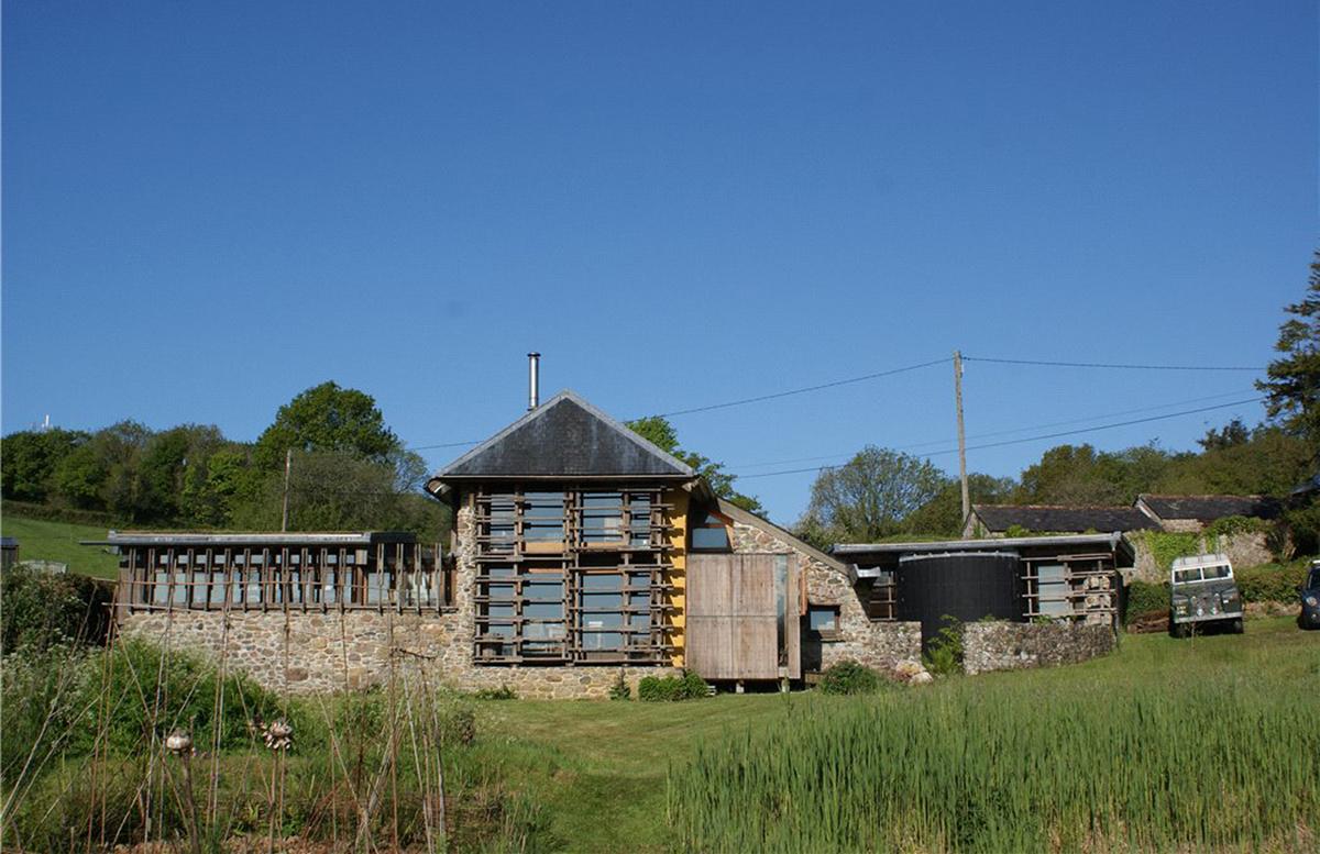 A RIBA award-winning former cattle barn hits the market in Devon
