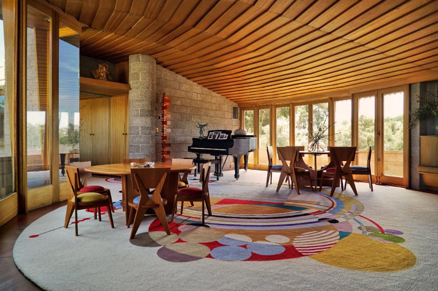 Twisting Frank Lloyd Wright home in Phoenix lists for $12.9m