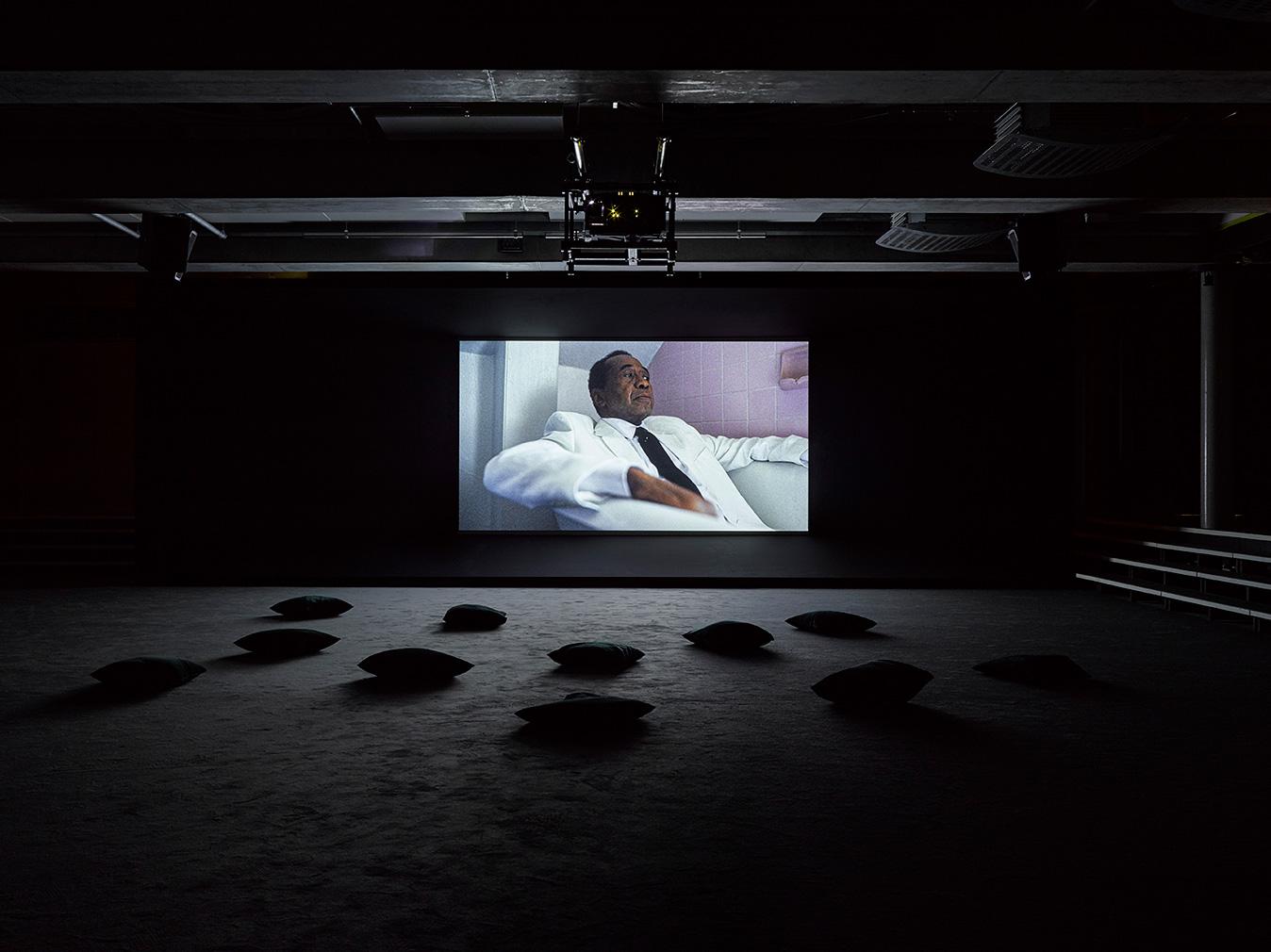 Kahlil Joseph's 'Fly Paper' art installation