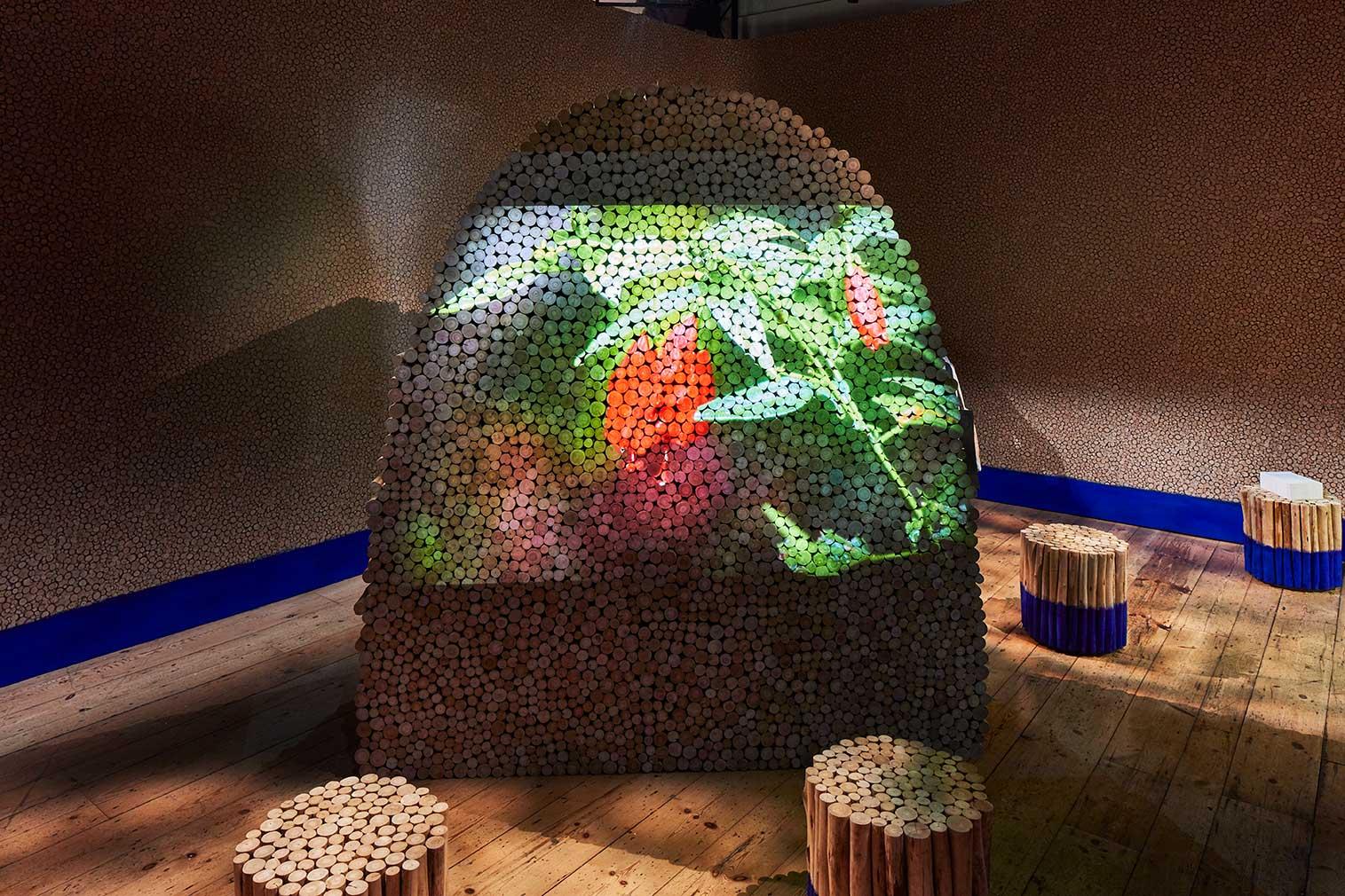 Brazil pavilion at London Design Biennale 2018