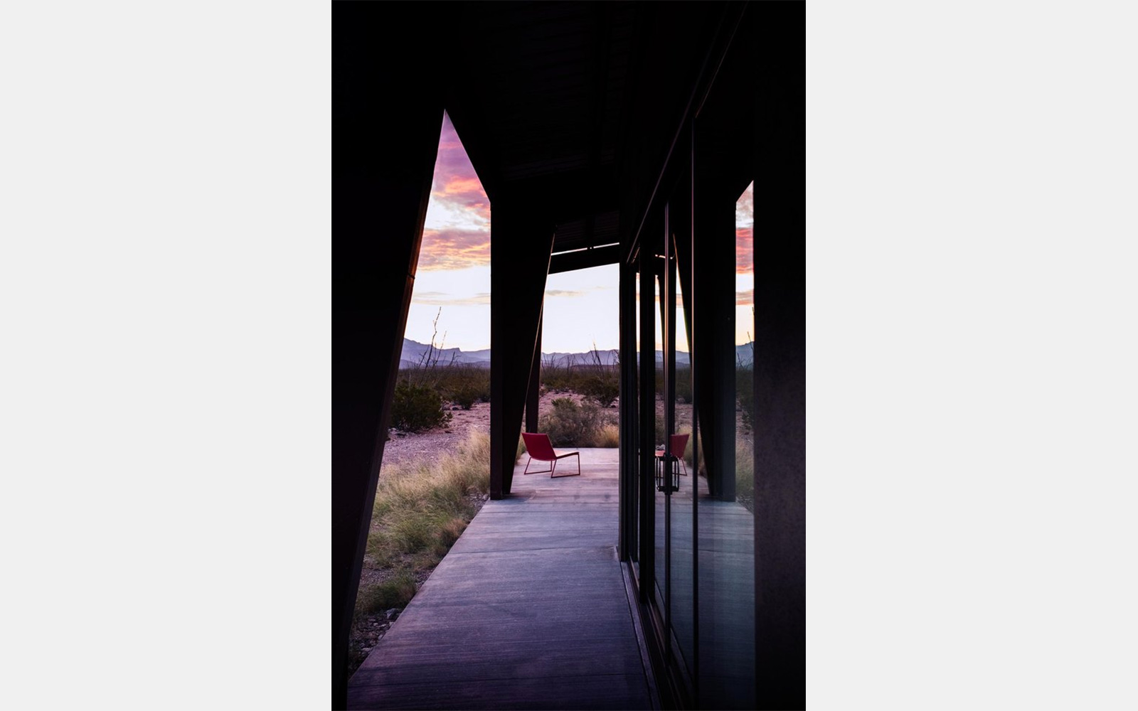 Solar holiday home to rent near Marfa, Texas