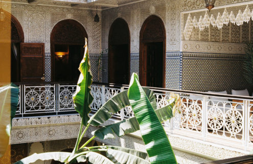 Holiday home of the week: a hidden riad in Marrakech