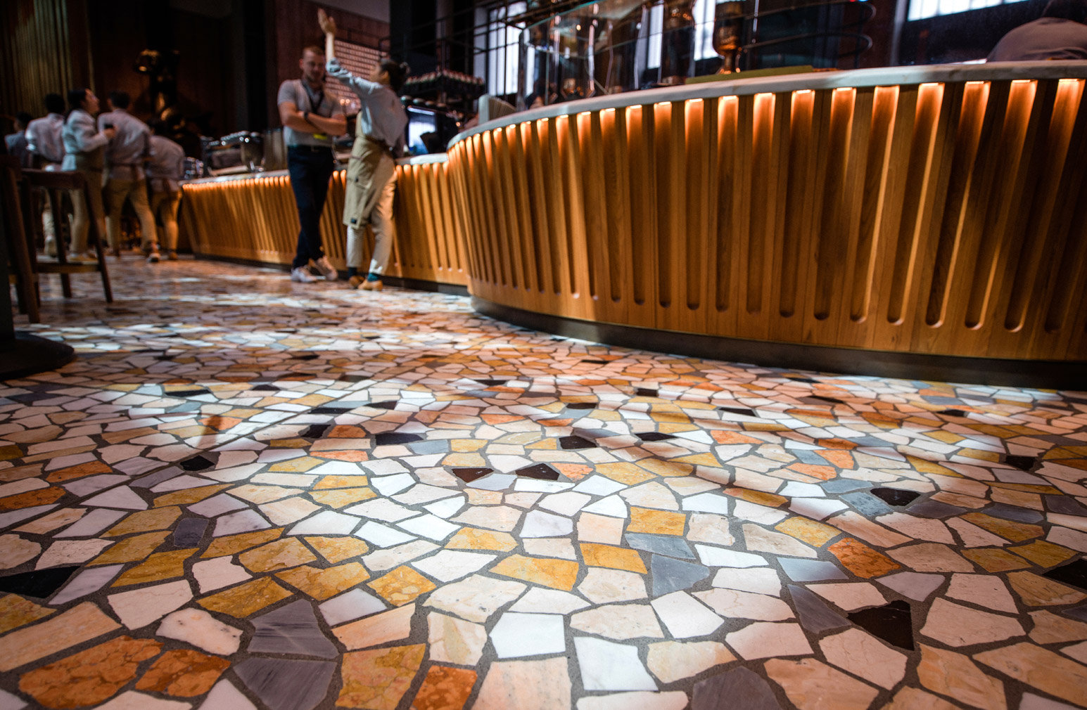 The Starbucks Reserve Roastery