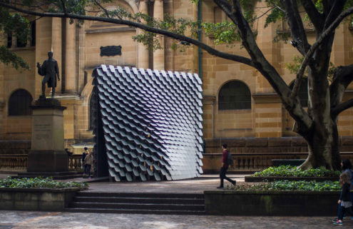 This Sydney pavilion turns paintings into music