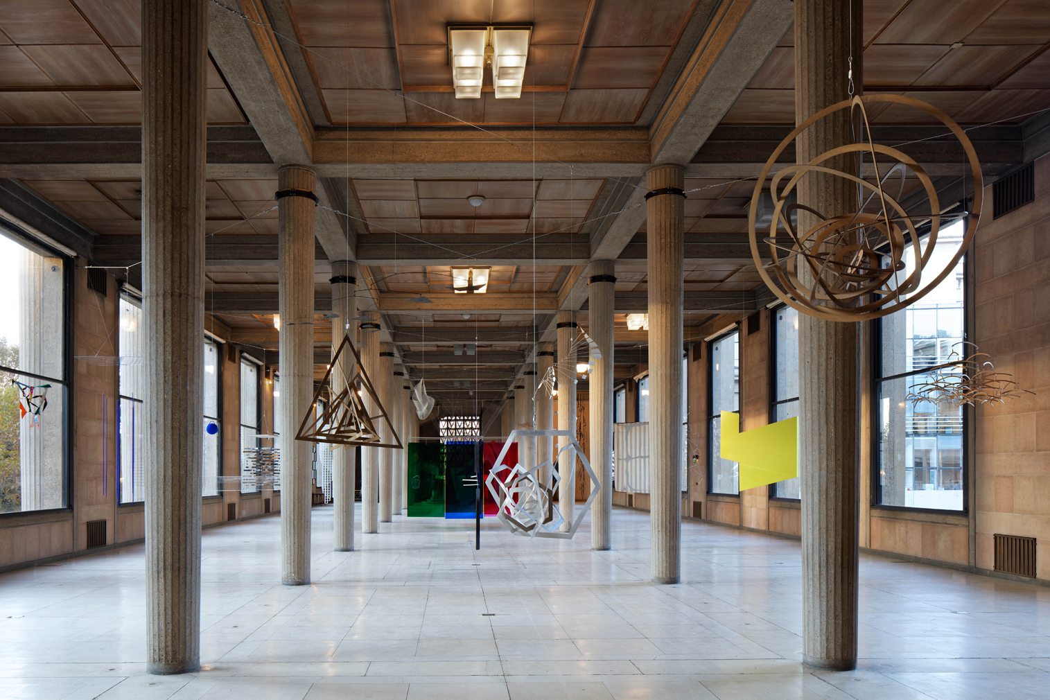 Hanging sculptures bring a 1930s icon to life in Paris