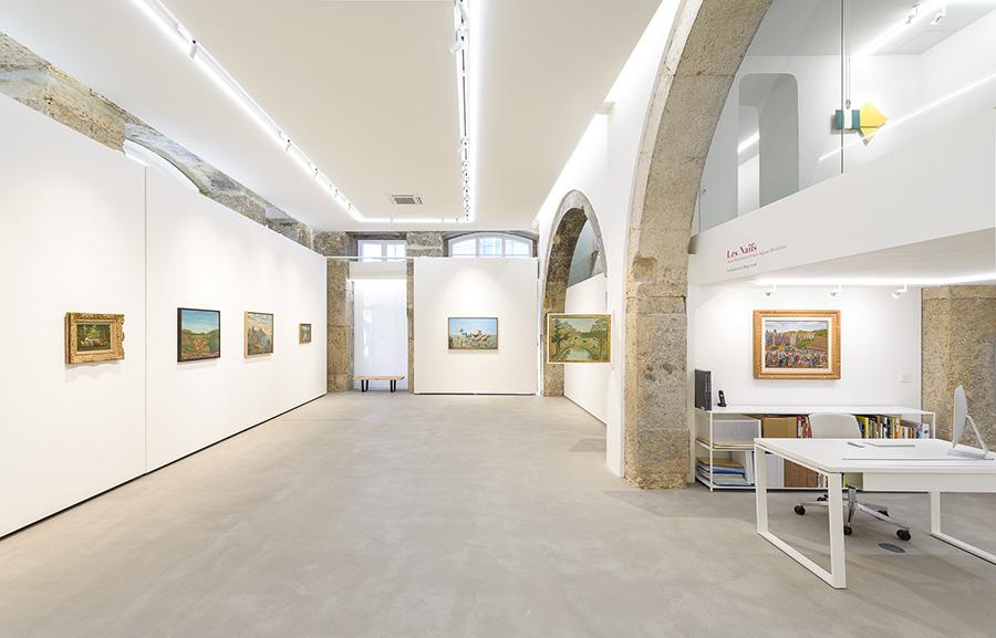 Installation view, Ricardo Alves, courtesy of Galerie Jeanne Bucher Jaeger