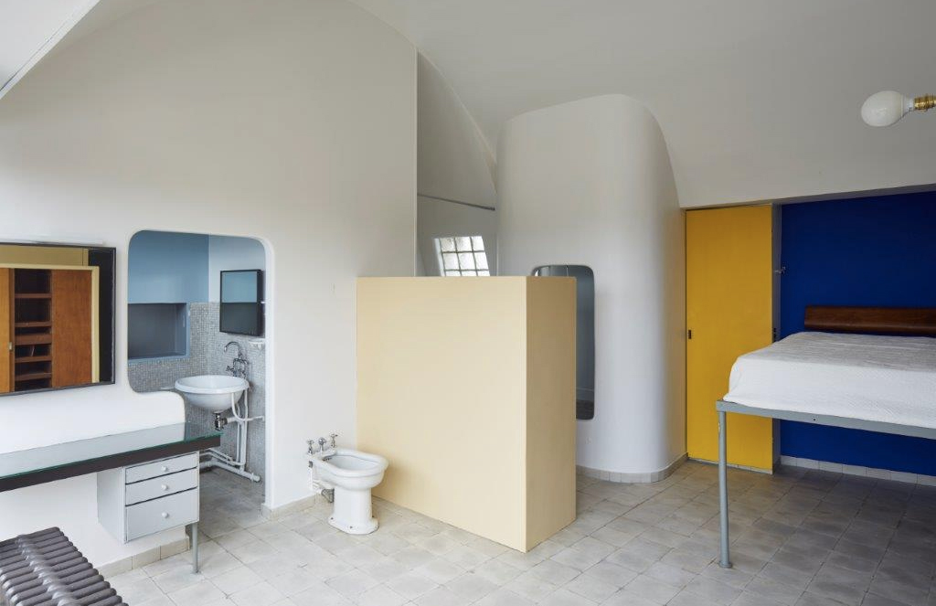 Le Corbusier's Paris studio apartment