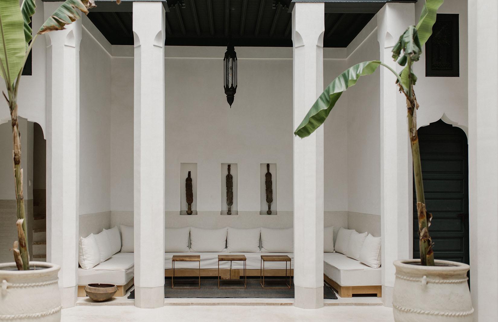 Holiday home of the week: a minimalist riad in Marrakech's Medina: Riad 42