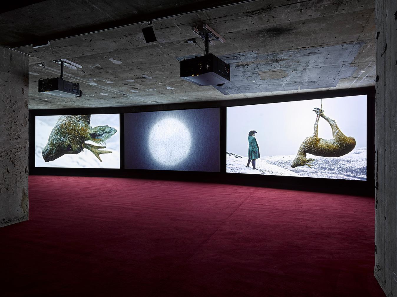 John Akomfrah's artwork, 'Vertigo Sea,'