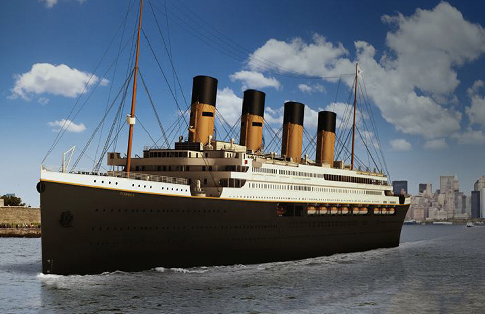 Titanic Replica to Sail Original Planned Route in 2022