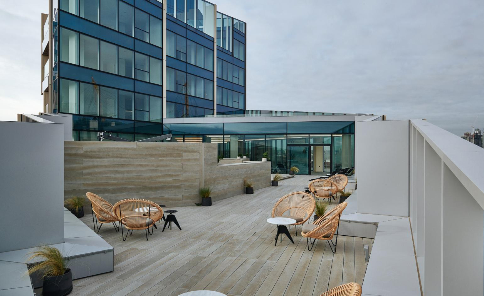Tom Dixon's rooftop spa opens in Greenwich Peninsula