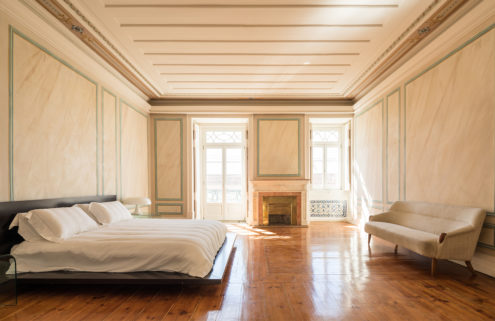 Holiday home of the week: a historic Lisbon palace with a minimalist twist
