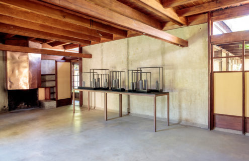 Edmund de Waal fills West Hollywood's Schindler House with sculptures