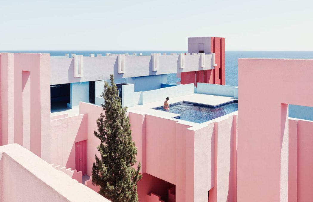 Muralla Roja by Ricardo Bofill
