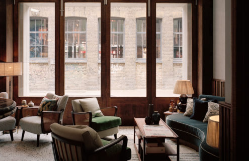 Soho House's new Redchurch Townhouse is a 'quiet architectural gesture'