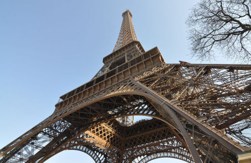 Eiffel Tower's spiral staircase fetches €169,000 at auction