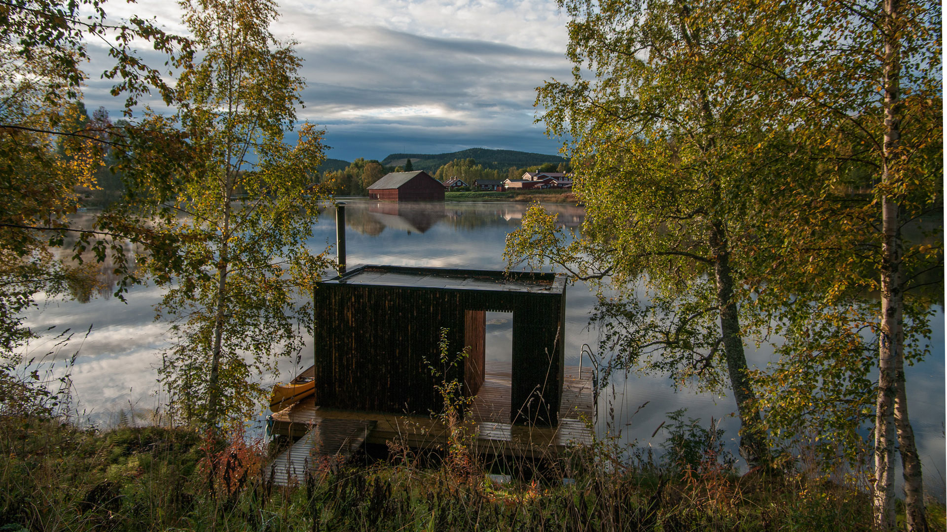 6 scenic saunas to unwind in this autumn