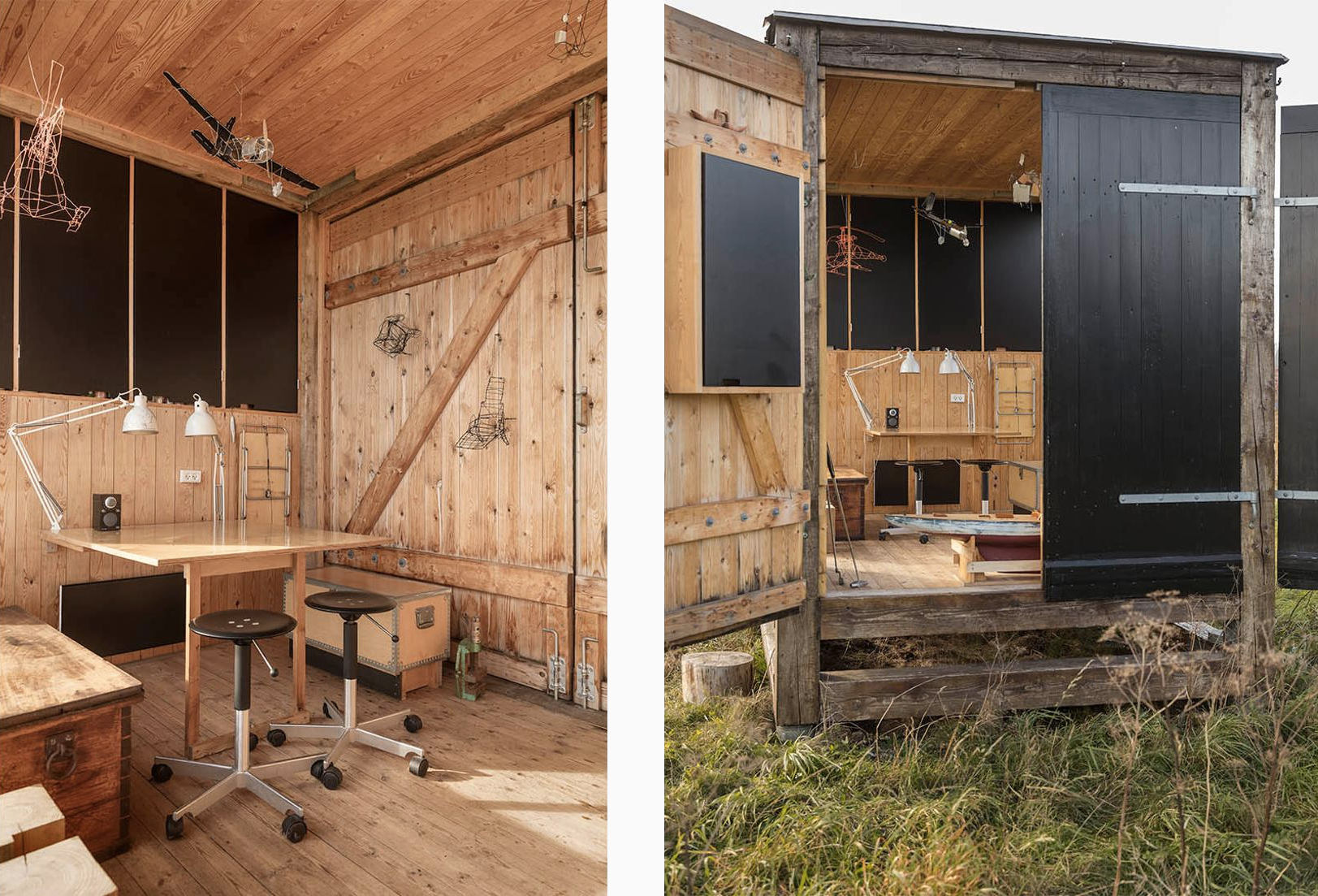 Rustic pavilion by designer Anders Hermansen hits the market