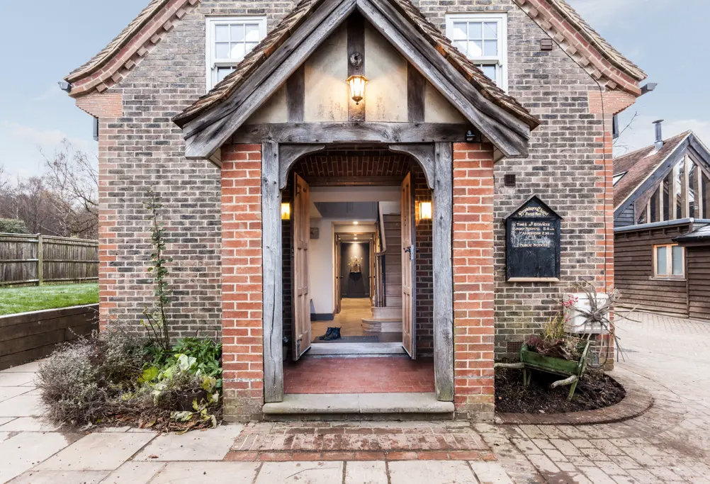 Converted chapel for rent in the UK this winter