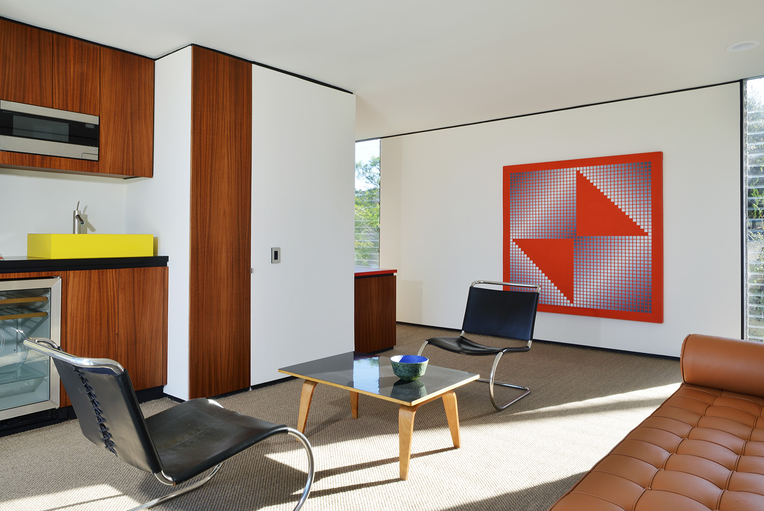 A revamped 1950s Craig Ellwood house hits the market for $2.95 million