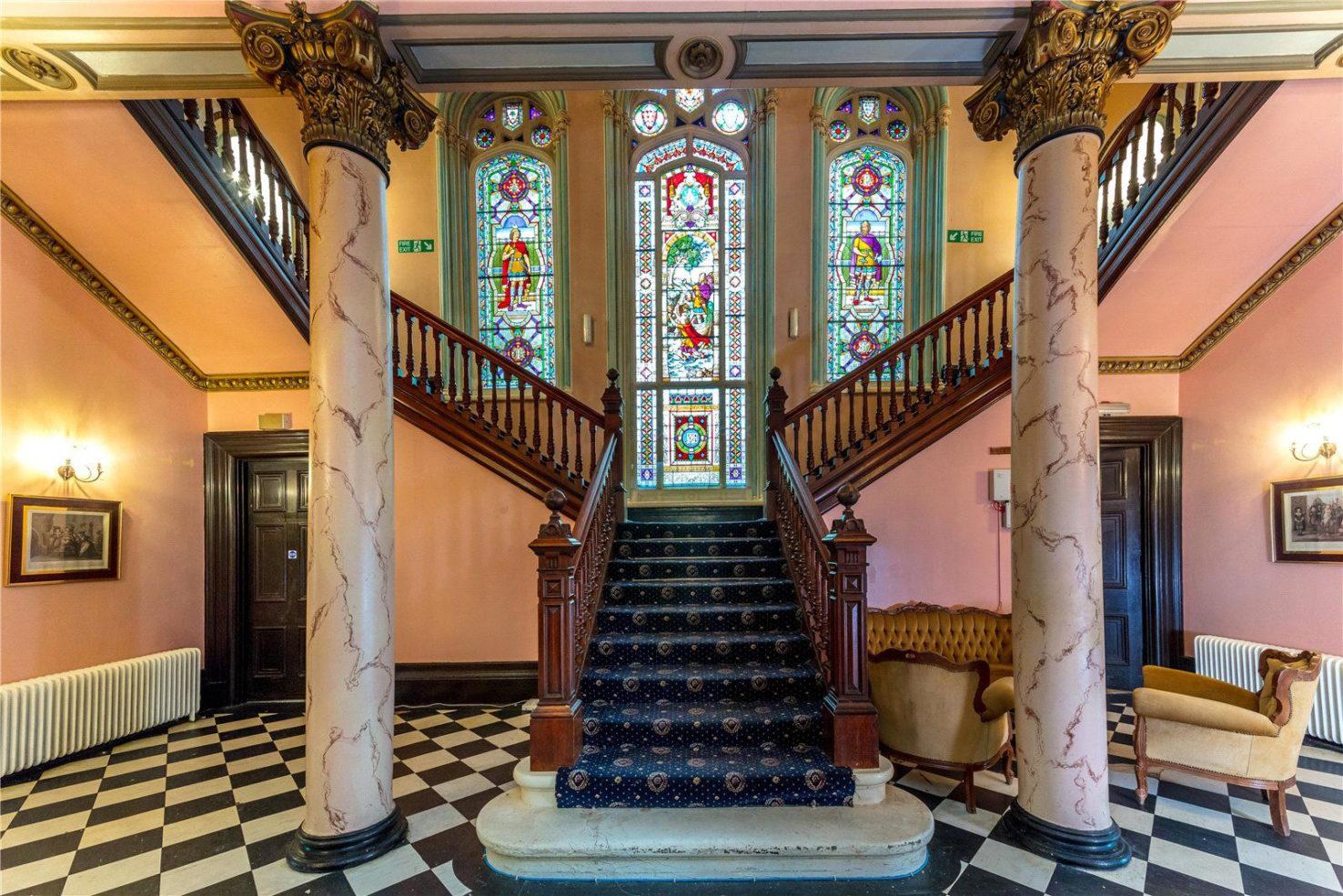 Dalmoak Castle for sale in Dumbarton Scotland