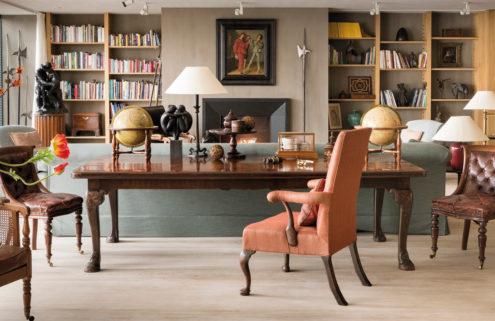 Entrepreneur Eric Albada Jelgersma's furniture collection heads to auction