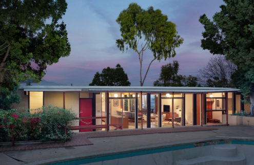 Time capsule post and beam house lists in LA for $1.195m