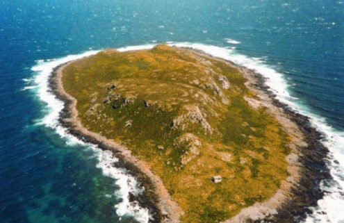 Uninhabited island off the coast of Tasmania lists for $1.98 million