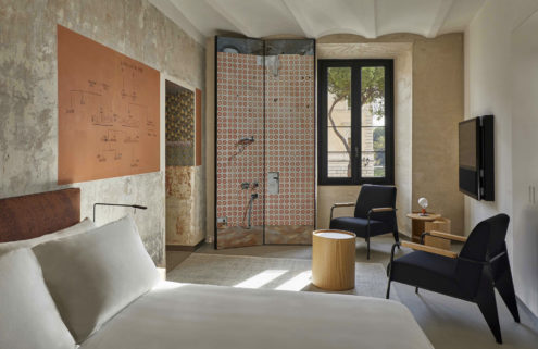 Jean Nouvel transforms a historic Palazzo into The Rooms of Rome hotel