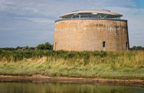 Holiday home of the week: A converted fortress on the Suffolk coast