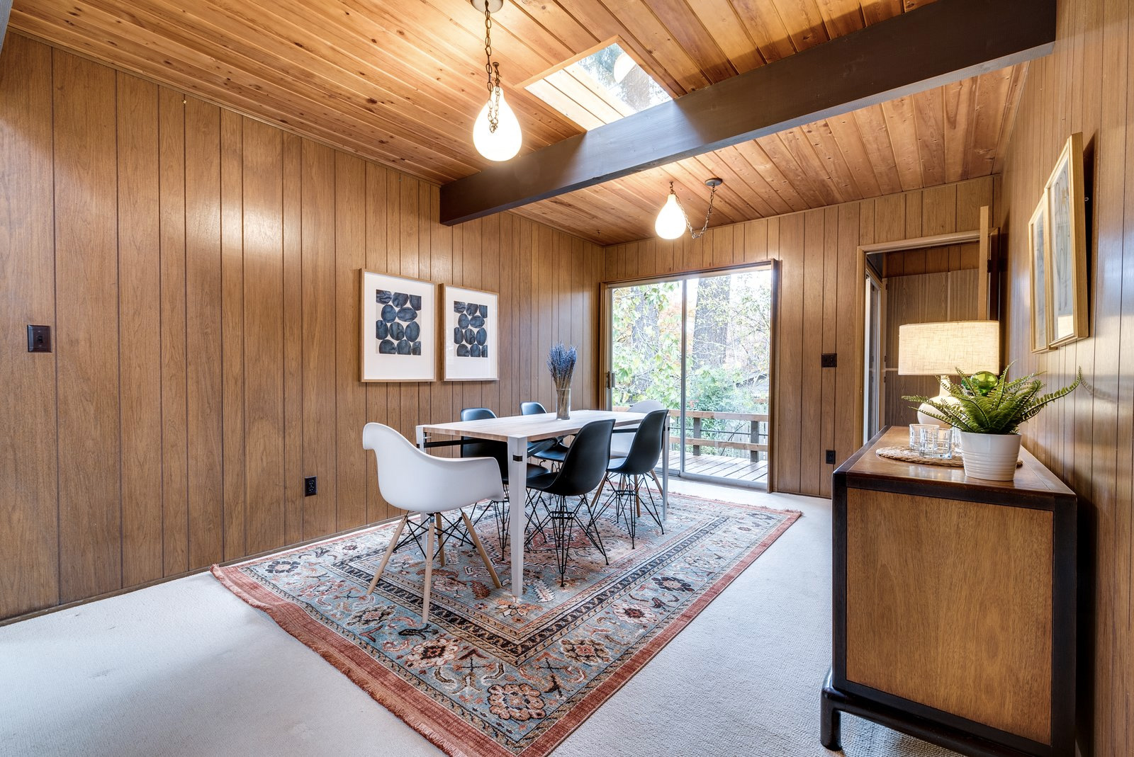 Post and beam with huge atrium lists for $700k near Portland